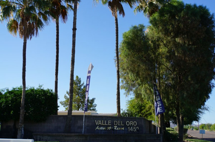 Valle Del Oro Rv Resort Phoenix Retirement Communities